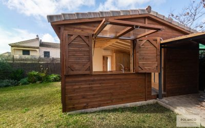 Ampliando los espacios con madera
